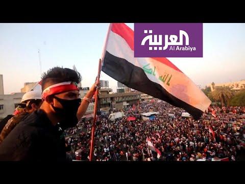 اشتباكات عنيفة بين المحتجين والأمن في بغداد ومحافظات أخرى