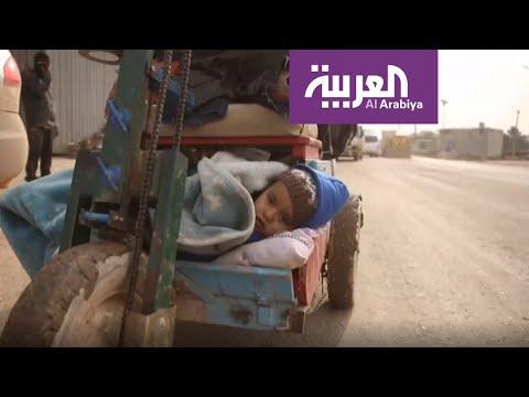 شاهد الأحوال المناخية تضاعف الوضع الإنساني المتدهور لنازحي إدلب