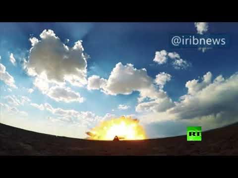الحرس الثوري الإيراني يكشف عن صاروخ جديد من طراز رعد