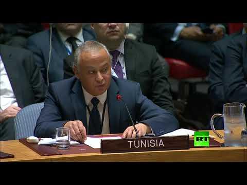 مندوب تونس الأممي يؤكد أن إنهاء احتلال إسرائيل يعيد الأمن والاستقرار إلى المنطقة