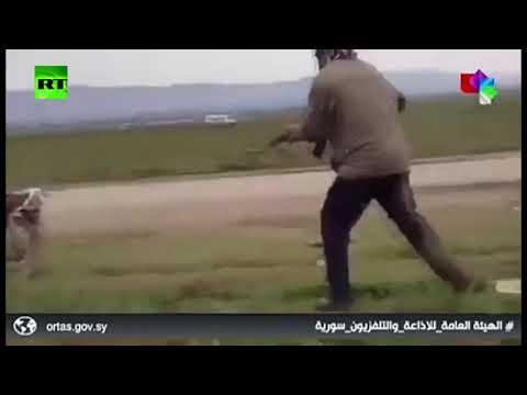 الاشتباكات بالأسلحة بين أهالي قرية خربة عمو والقوات الأميركية في سورية