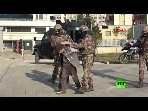 شاهد لحظة اعتقال الأمن التركي للسوري أبو تقي الشامي القيادي الاستخباراتي في داعش
