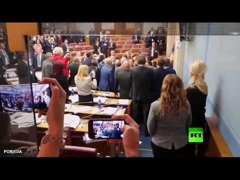 مشاجرة في برلمان الجبل الأسود بعد التصويت على قانون مثير للجدل