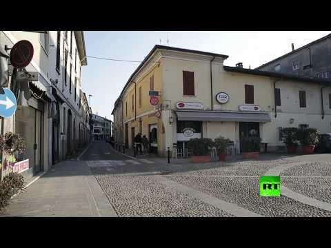 شاهد مدينة إيطالية تتحول إلى مدينة أشباح بسبب كورونا