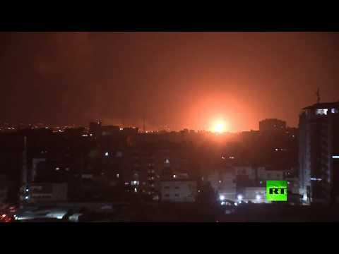 شاهد موجة ضربات إسرائيلية جديدة على غزة