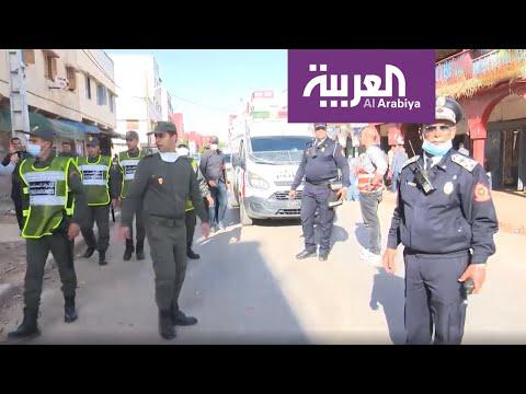 شاهد لقطات من أكبر حي شعبي مغربي ترصد الحظر الصحي الجماعي