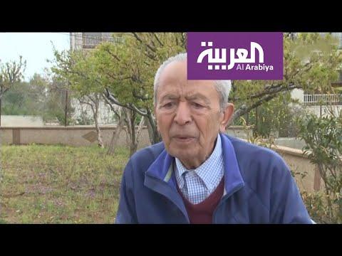 شاهد أبو ماهر مسن يعيش وحده في رام الله