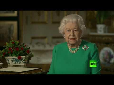 الملكة إليزابيث تعد الشعب البريطاني بالانتصار على كورونا
