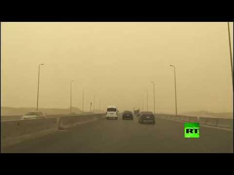 عاصفة ترابية تضرب العاصمة المصرية وارتفاع كبير في الحرارة