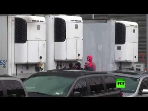 شاحنات مبردة للجثث تنتشر في شوارع نيويورك الأميركية