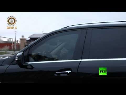 شاهد الرئيس الشيشاني يتفقد الأوضاع وحالة الشوارع في مدينة غروزني