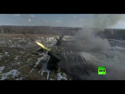 آمور الروسية تشهد أول استخدام لـراجمات صواريخ غراد