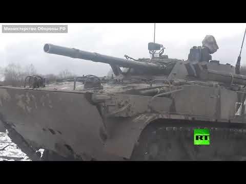 تدريبات عسكرية للجيش الروسي على مواجهة الدرونات في أوسيتيا