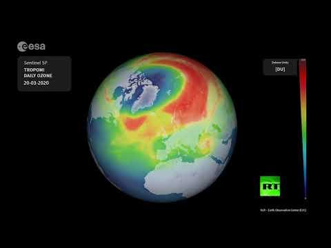 خبراء وكالة الفضاء الأوروبية يتوقعون انغلاق ثقب الأوزون في نيسان