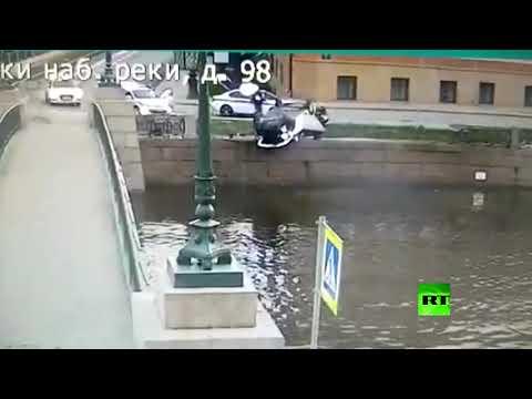 شاهد نهاية غير متوقعة لمطاردة في سان بطرسبورغ الروسية