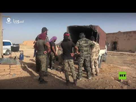 تعزيزات لمحاربة داعش في دير الزور