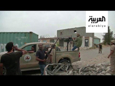 ترهونة الليبية تتعرض لقصف متواصل بدعم تركي