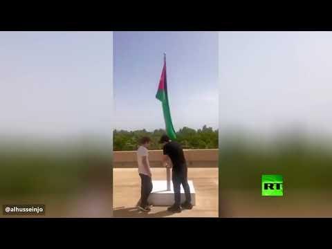 شاهد نجلا ملك الأردن يشاركان في فعالية عيد الاستقلال