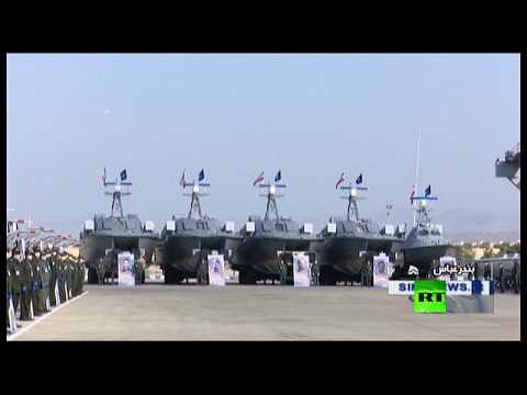 الحرس الثوري الإيراني يتسلم 112 زورقًا حربيًا جديدًا