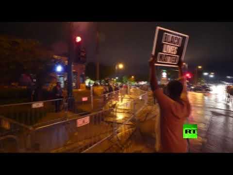 مواجهات عنيفة بين محتجين أميركيين وعناصر الشرطة في مينيسوتا