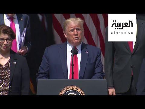 ترمب يعد بإعادة فتح الولايات المتحدة وبقوة