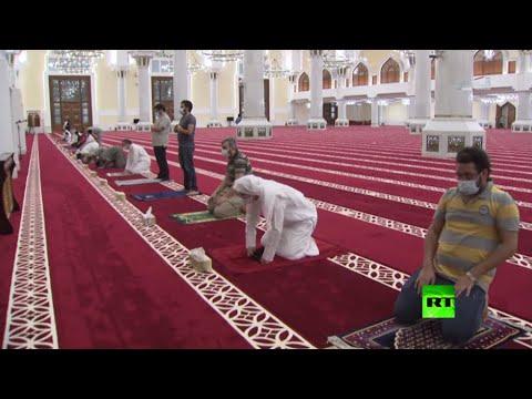 افتتاح المساجد في العاصمة القطرية الدوحة