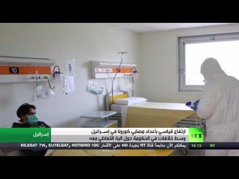 شاهد إسرائيل تُسجل قفزة قياسية في عدد الإصابات المسجلة بـكورونا