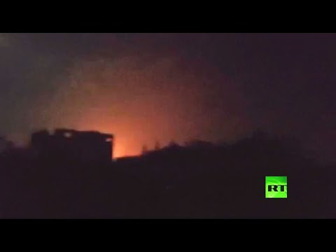 مروحيات إسرائيل تستهدف الفلسطينيين في غزة بصاروخين