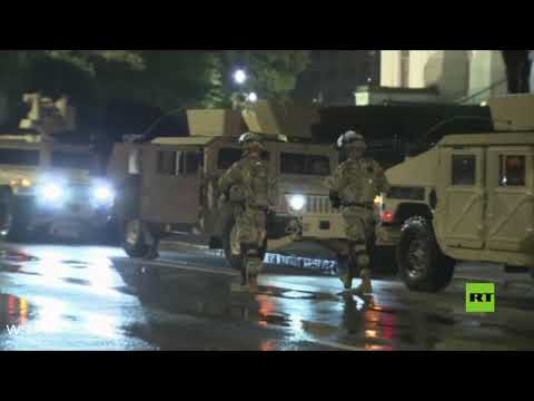 جورجيا الأميركية تعلن الطوارئ وتنشر الحرس الوطني في أتلانتا