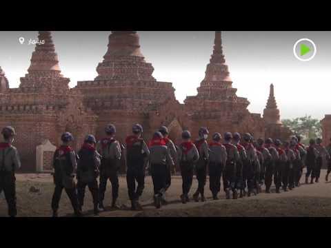 حماية كنوز معبد ميانمار من النهب