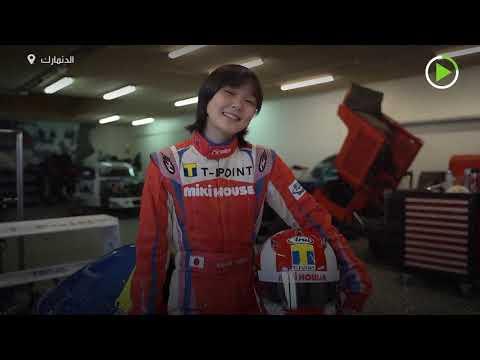 ابنة متسابق سيارات تفوز في سباق إف 4 الدنماركي