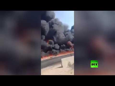 حريق هائل في مصر يُسفر عن إصابة 17 شخصًا