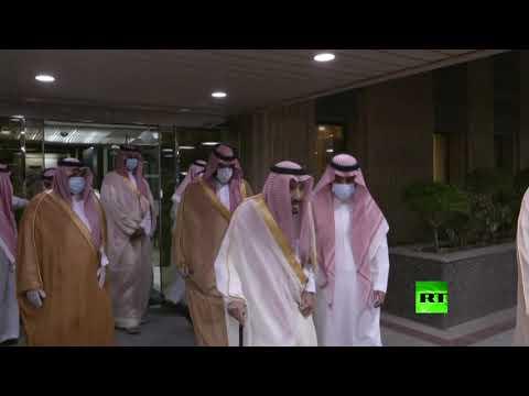 العاهل السعودي الملك سلمان بن عبد العزيز يغادر مستشفى