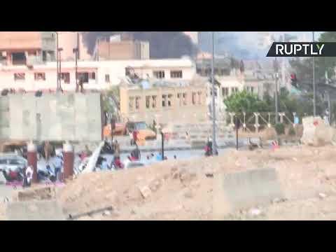 آثار الدمار جراء الانفجار الكبير في العاصمة اللبنانية بيروت
