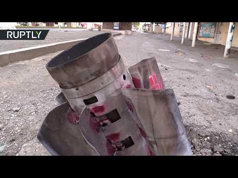 شاهد العثور على 600 قنبلة غير متفجرة في عاصمة قره باغ