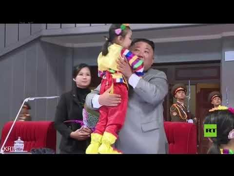 شاهد الزعيم الكوري الشمالي يحضر حفلًا رياضيًا وفنيًا ضخمًا