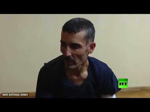 شاهد أرمينيا تنشر فيديو استجواب مُسلح سوري أسر في قره باغ