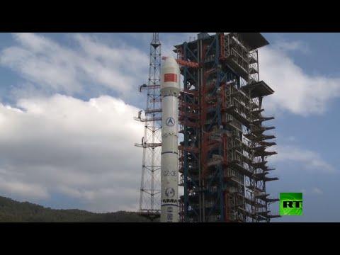 شاهدالصين تطلق قمرًا صناعيًا للاتصالات من طراز tiantong 102