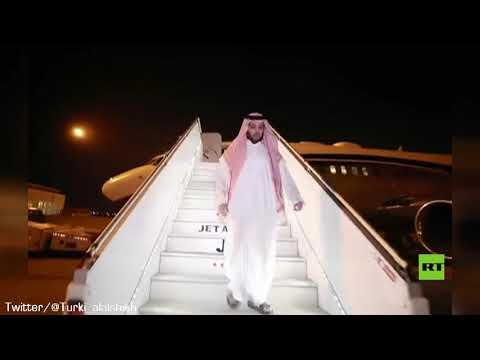 شاهد تركي آل الشيخ يسجدّ على أرض مطار الرياض بعدر حلة علاج