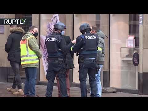 شاهد لقطات توثق سقوط القتلى في حادث الدهس في مدينة ترير الالمانية