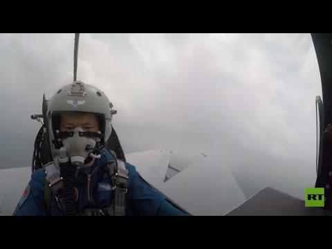 شاهد فيديو من داخل طائرة منكوبة بعد اصطدامها بالطيور