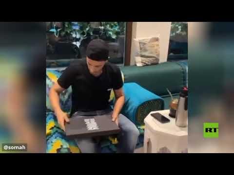 شاهدالسوري عمر السومة يكشف عن هدية رونالدو له