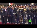 العرب اليوم - بالفيديو لحظة لقاء الرئيس الفلسطيني مع نظيره اللبناني