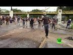 فلسطين اليوم - شاهد استمرار الاحتجاجات والشتباكات في فنزويلا