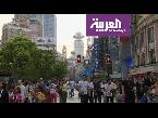 فلسطين اليوم - شاهد نانجينغ أكثر الشوارع ازدحامًا للتسوّق في العالم
