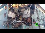 انفجار للغاز يهز مبنى سكني في مورمانسك الروسية