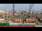 آثار انفجار مرفأ بيروت تصل إلى دمشق المنهكة اقتصاديًا
